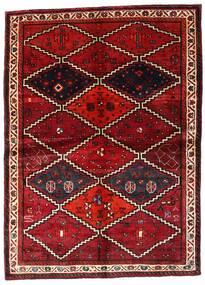 Lori Teppe 162X224 Ekte Orientalsk Håndknyttet Mørk Rød (Ull, Persia/Iran)