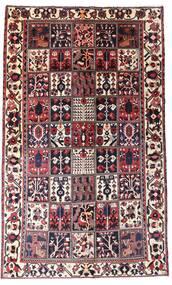 Bakhtiar Teppe 160X260 Ekte Orientalsk Håndknyttet Mørk Brun/Mørk Rød (Ull, Persia/Iran)