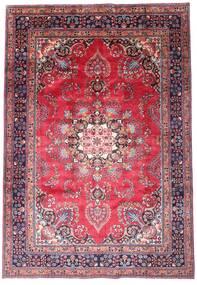 Mashad Teppe 203X290 Ekte Orientalsk Håndknyttet Mørk Lilla/Rosa (Ull, Persia/Iran)