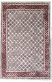 Moud Teppe 197X297 Ekte Orientalsk Håndknyttet Mørk Brun/Lys Grå (Ull/Silke, Persia/Iran)