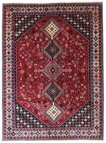 Yalameh Teppe 173X235 Ekte Orientalsk Håndknyttet Mørk Rød (Ull, Persia/Iran)