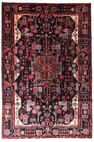 Nahavand Teppe 163X247 Ekte Orientalsk Håndknyttet Mørk Rød (Ull, Persia/Iran)