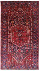 Hamadan Teppe 158X281 Ekte Orientalsk Håndknyttet Mørk Rød/Rød (Ull, Persia/Iran)