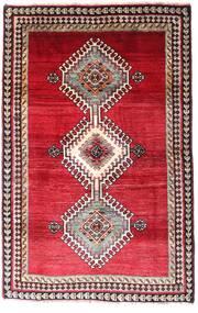 Ghashghai Teppe 120X185 Ekte Orientalsk Håndknyttet Mørk Rød/Rød (Ull, Persia/Iran)