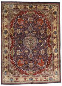Kashmar Teppe 294X396 Ekte Orientalsk Håndknyttet Mørk Rød/Mørk Brun/Lysbrun Stort (Ull, Persia/Iran)
