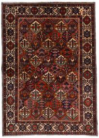 Bakhtiar Teppe 153X212 Ekte Orientalsk Håndknyttet Mørk Brun/Mørk Rød (Ull, Persia/Iran)