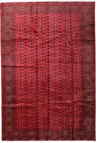 Turkaman Teppe 197X285 Ekte Orientalsk Håndknyttet Mørk Rød/Rød (Ull, Persia/Iran)