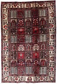 Bakhtiar Teppe 205X304 Ekte Orientalsk Håndknyttet Mørk Brun/Mørk Rød (Ull, Persia/Iran)
