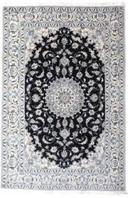 Nain Teppe 200X297 Ekte Orientalsk Håndknyttet Hvit/Creme/Lys Grå (Ull, Persia/Iran)