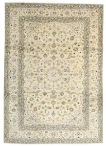 Keshan Teppe 241X342 Ekte Orientalsk Håndknyttet Beige/Mørk Beige (Ull, Persia/Iran)