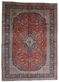 Keshan Teppe 287X403 Ekte Orientalsk Håndknyttet Mørk Rød/Mørk Brun Stort (Ull, Persia/Iran)
