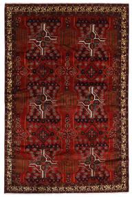 Beluch Teppe 192X294 Ekte Orientalsk Håndknyttet Mørk Rød/Mørk Brun (Ull, Persia/Iran)