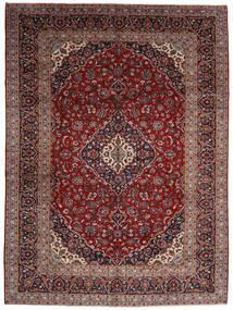 Keshan Teppe 294X400 Ekte Orientalsk Håndknyttet Mørk Rød Stort (Ull, Persia/Iran)