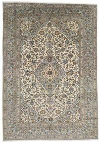 Keshan Teppe 247X348 Ekte Orientalsk Håndknyttet Mørk Grå/Lys Grå (Ull, Persia/Iran)