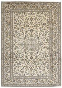 Keshan Teppe 248X350 Ekte Orientalsk Håndknyttet Lys Grå/Beige/Mørk Grå (Ull, Persia/Iran)