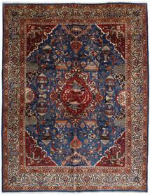 Kashmar Teppe 292X374 Ekte Orientalsk Håndknyttet Mørk Grå/Mørk Rød Stort (Ull, Persia/Iran)