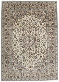 Keshan Teppe 250X348 Ekte Orientalsk Håndknyttet Lys Grå/Mørk Grå Stort (Ull, Persia/Iran)