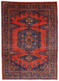 Wiss Teppe 245X340 Ekte Orientalsk Håndknyttet Mørk Rød/Rust (Ull, Persia/Iran)