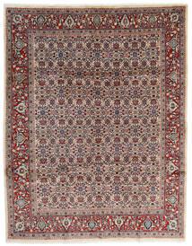 Mahal Teppe 245X320 Ekte Orientalsk Håndknyttet Beige/Mørk Brun (Ull, Persia/Iran)