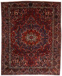 Bakhtiar Teppe 310X382 Ekte Orientalsk Håndknyttet Mørk Rød Stort (Ull, Persia/Iran)