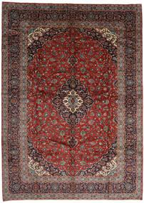 Keshan Teppe 301X420 Ekte Orientalsk Håndknyttet Mørk Rød/Mørk Grå Stort (Ull, Persia/Iran)