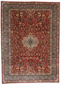 Sarough Teppe 282X392 Ekte Orientalsk Håndknyttet Mørk Brun/Lysbrun/Mørk Rød Stort (Ull, Persia/Iran)