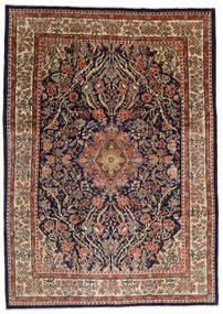 Sarough Teppe 277X387 Ekte Orientalsk Håndknyttet Mørk Brun/Lysbrun Stort (Ull, Persia/Iran)