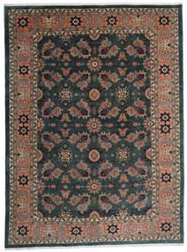 Ardebil Teppe 295X393 Ekte Orientalsk Håndknyttet Svart/Mørk Rød Stort (Ull, Persia/Iran)