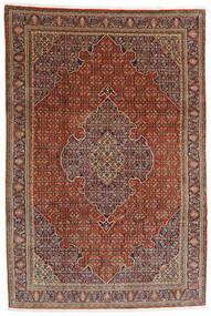 Bidjar Teppe 233X340 Ekte Orientalsk Håndknyttet Mørk Brun/Lysbrun (Ull, Persia/Iran)