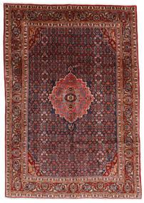Bidjar Teppe 204X290 Ekte Orientalsk Håndknyttet Mørk Rød/Mørk Grå (Ull, Persia/Iran)