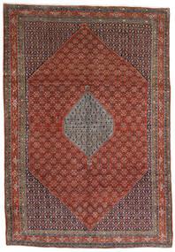 Bidjar Teppe 221X320 Ekte Orientalsk Håndknyttet Mørk Brun/Mørk Rød (Ull, Persia/Iran)