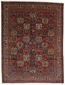 Bakhtiar Teppe 298X390 Ekte Orientalsk Håndknyttet Mørk Brun/Mørk Rød Stort (Ull, Persia/Iran)
