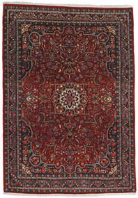 Bidjar Teppe 220X315 Ekte Orientalsk Håndknyttet Mørk Rød/Mørk Grå (Ull, Persia/Iran)
