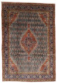 Bidjar Teppe 225X330 Ekte Orientalsk Håndknyttet Mørk Brun/Lysbrun (Ull, Persia/Iran)