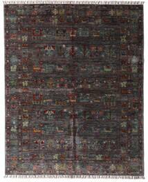 Shabargan Teppe 159X195 Ekte Moderne Håndknyttet Mørk Brun/Mørk Grå (Ull, Afghanistan)