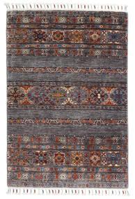 Sharbargan Teppe 82X119 Ekte Moderne Håndknyttet Mørk Brun/Mørk Grå (Ull, Afghanistan)
