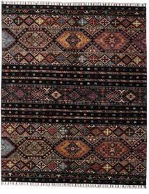 Shabargan Teppe 156X190 Ekte Moderne Håndknyttet Mørk Brun/Mørk Grå (Ull, Afghanistan)