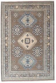 Kazak Teppe 117X173 Ekte Orientalsk Håndknyttet Lys Grå/Mørk Grå (Ull, Afghanistan)