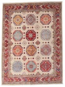 Kazak Teppe 149X203 Ekte Orientalsk Håndknyttet Mørk Rød/Lysbrun (Ull, Afghanistan)
