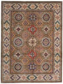 Kazak Teppe 270X359 Ekte Orientalsk Håndknyttet Brun/Lysbrun Stort (Ull, Afghanistan)