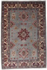 Kazak Teppe 120X175 Ekte Orientalsk Håndknyttet Mørk Brun/Svart (Ull, Afghanistan)