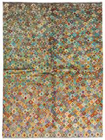Moroccan Berber - Afghanistan Teppe 171X232 Ekte Moderne Håndknyttet Mørk Grå/Brun (Ull, Afghanistan)