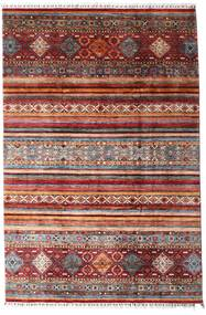 Sharbargan Teppe 208X312 Ekte Moderne Håndknyttet Mørk Rød/Mørk Brun (Ull, Afghanistan)