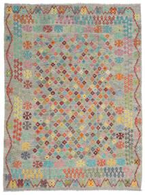 Kelim Afghan Old Style Teppe 184X245 Ekte Orientalsk Håndvevd (Ull, Afghanistan)