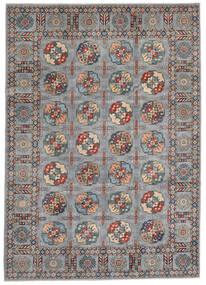 Kazak Teppe 246X347 Ekte Orientalsk Håndknyttet Mørk Brun (Ull, Afghanistan)