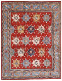 Kazak Teppe 240X308 Ekte Orientalsk Håndknyttet Rust/Lyselilla (Ull, Afghanistan)
