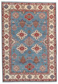 Kazak Teppe 183X269 Ekte Orientalsk Håndknyttet Mørk Brun/Blå (Ull, Afghanistan)