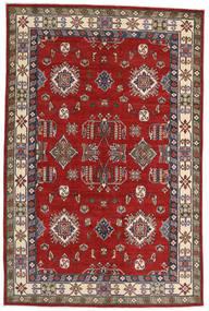 Kazak Teppe 182X275 Ekte Orientalsk Håndknyttet Rust/Mørk Rød (Ull, Afghanistan)