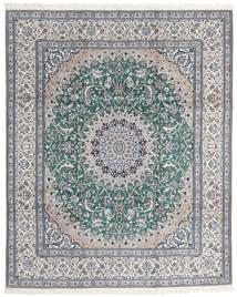 Nain 9La Teppe 246X300 Ekte Orientalsk Håndknyttet (Ull/Silke, Persia/Iran)