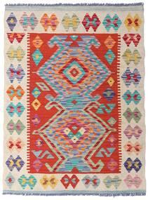 Kelim Afghan Old Style Teppe 77X104 Ekte Orientalsk Håndvevd (Ull, Afghanistan)